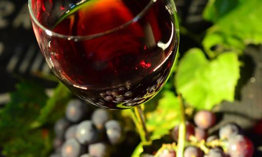 Immédiatement vin pétillant après le broyage - production de vin