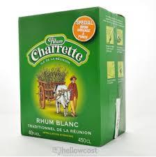 rhum charrette - 1l - ambré