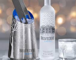 belvedere vodka - carrefour - coffret